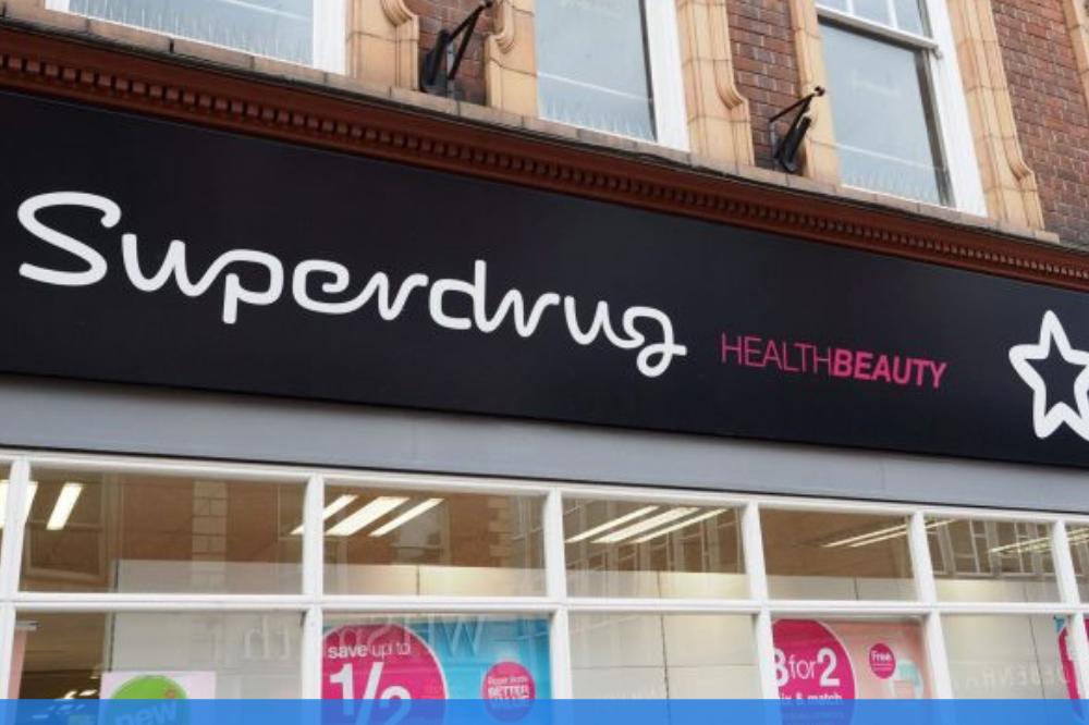 Superdrug shop front image